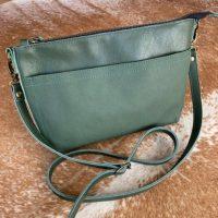 Yellow Duck Moss Green Sling Bag